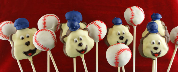 Minnesota Twins Cake Pops