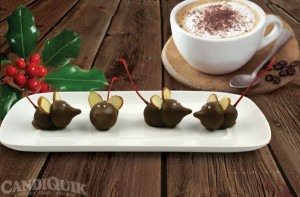 Chocolate Party Mice - @candiquik