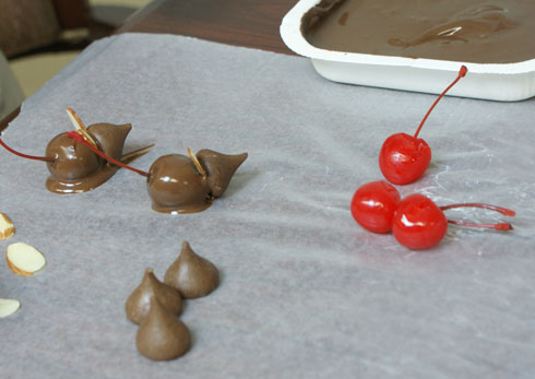 Chocolate Party Mice