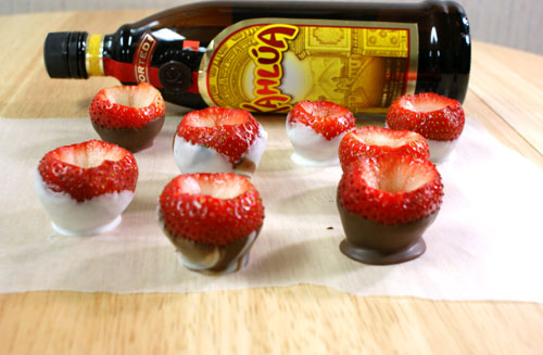 Strawberry Shot Glasses