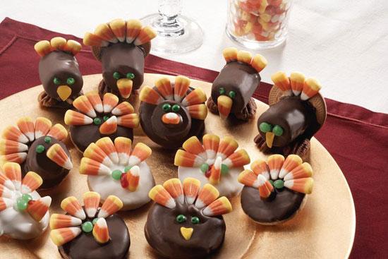 Turkey Cookies - @candiquik