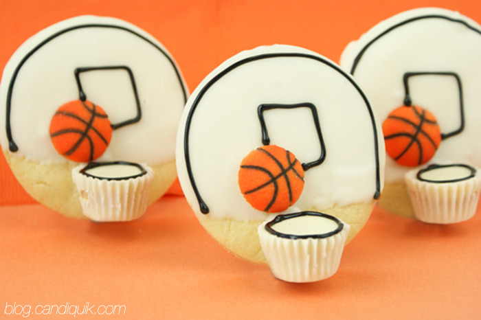 Basketball Cookies - blog.candiquik.com