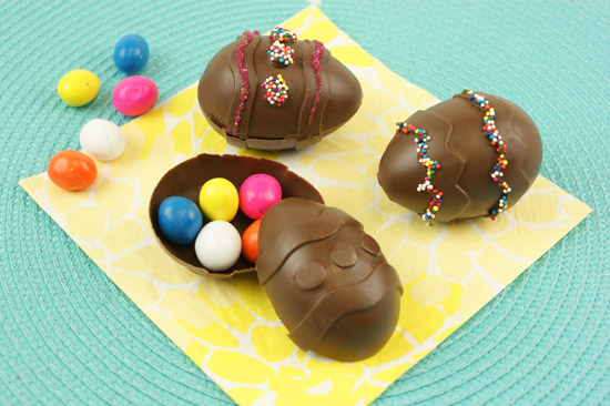 Hidden Surprise Chocolate Easter Eggs