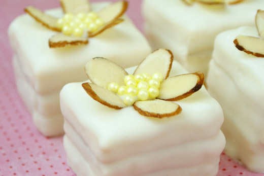 (Easy) White Chocolate Raspberry Petit Fours