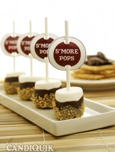 Easy S'more Pops