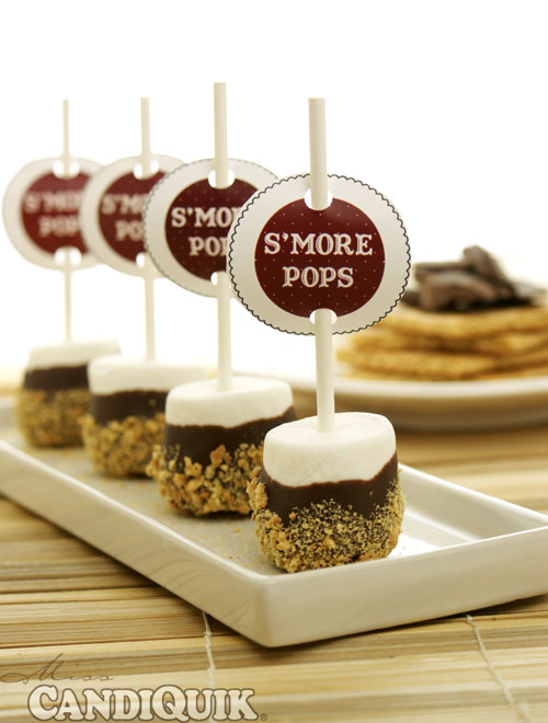 Easy S'more Pops - 2 Ways