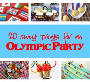 20 Sweet Treats for an Olympic Party