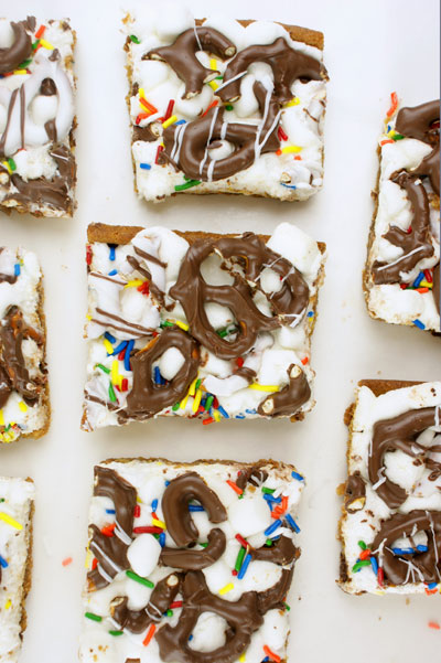 Cookie Confetti Bars