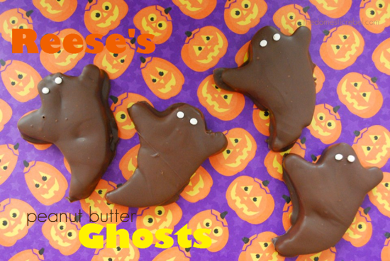 Peanut Butter Ghosts