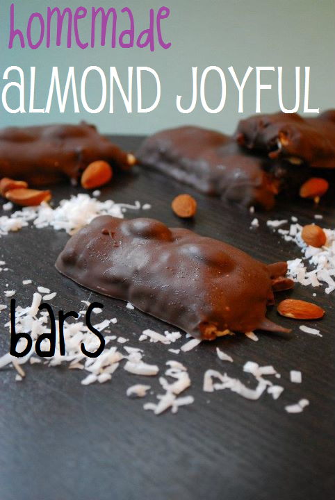 Homemade Almond Joyful Bars