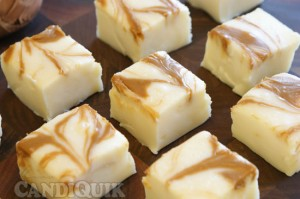 {3 Ingredient} White Biscoff Fudge by Miss Candiquik
