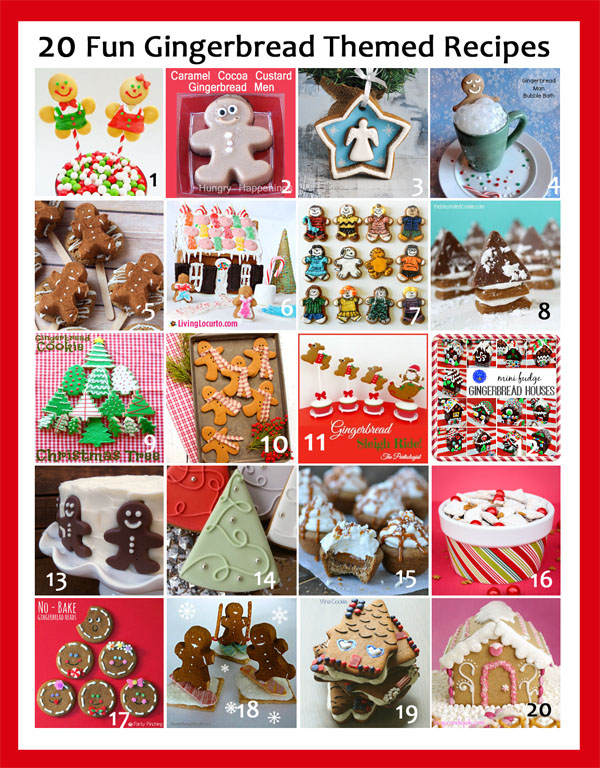 20 Gingerbread Recipe Ideas for the Holidays