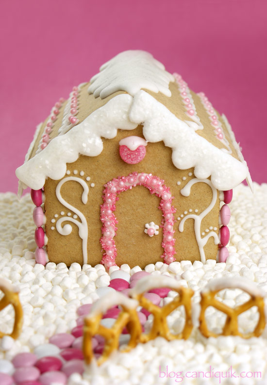Sugar Plum Gingerbread House