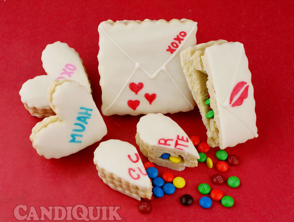 Valentine Surprise Cookies