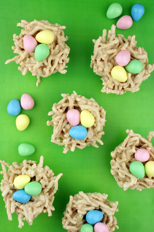 CHow Mein Easter Nests