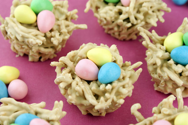 Chow Meain Easter Nests