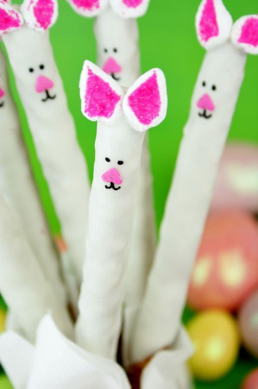 Bunny Pretzels - blog.candiquik.com