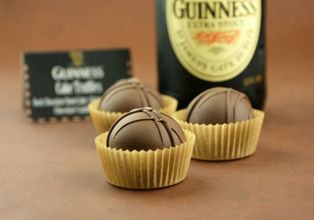 Chocolate Stout {Guiness} Cake Truffles