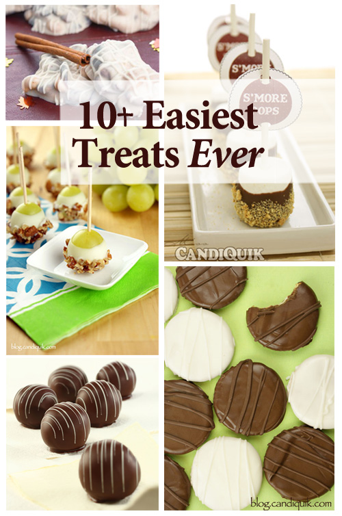 10+ Easiest Treats Ever | by @candiquik