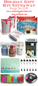 Holiday Gift Kit Giveaway from Miss CandiQuik & Stop Lookin' Get Cookin'