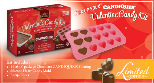 CandiQuik Valentine Candy Kit