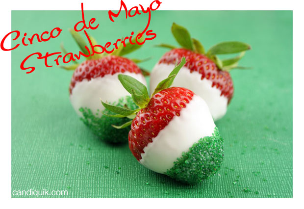 Cinco de Mayo Strawberries