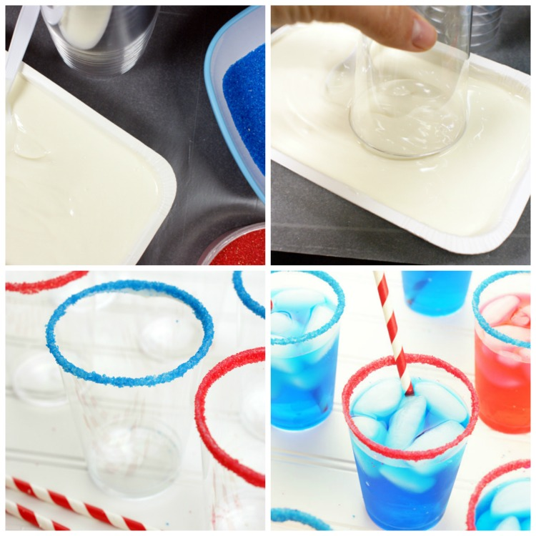 Red, White & Blue Party Sprinkle Cups - blog.candiquik.com
