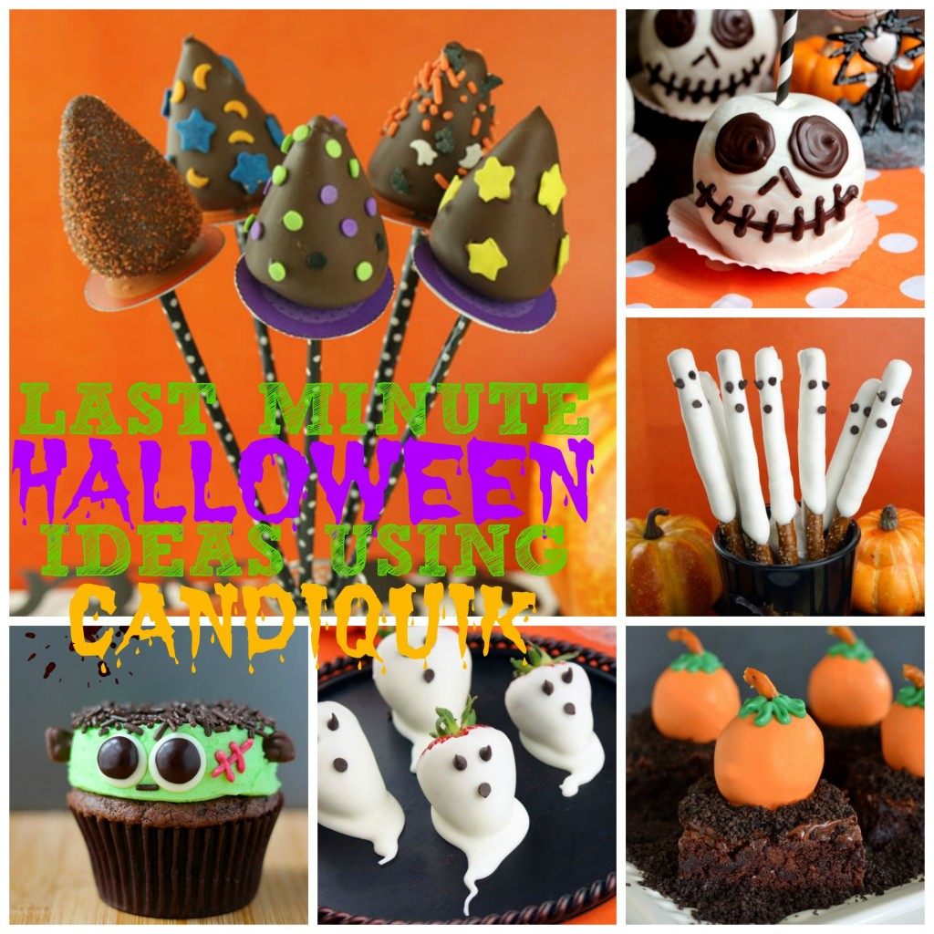 Last Minute Halloween Ideas Using CandiQuik