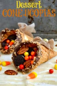Dessert Coneucopias