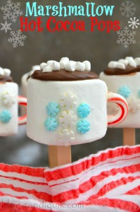 Marshmallow Hot Cocoa Pops