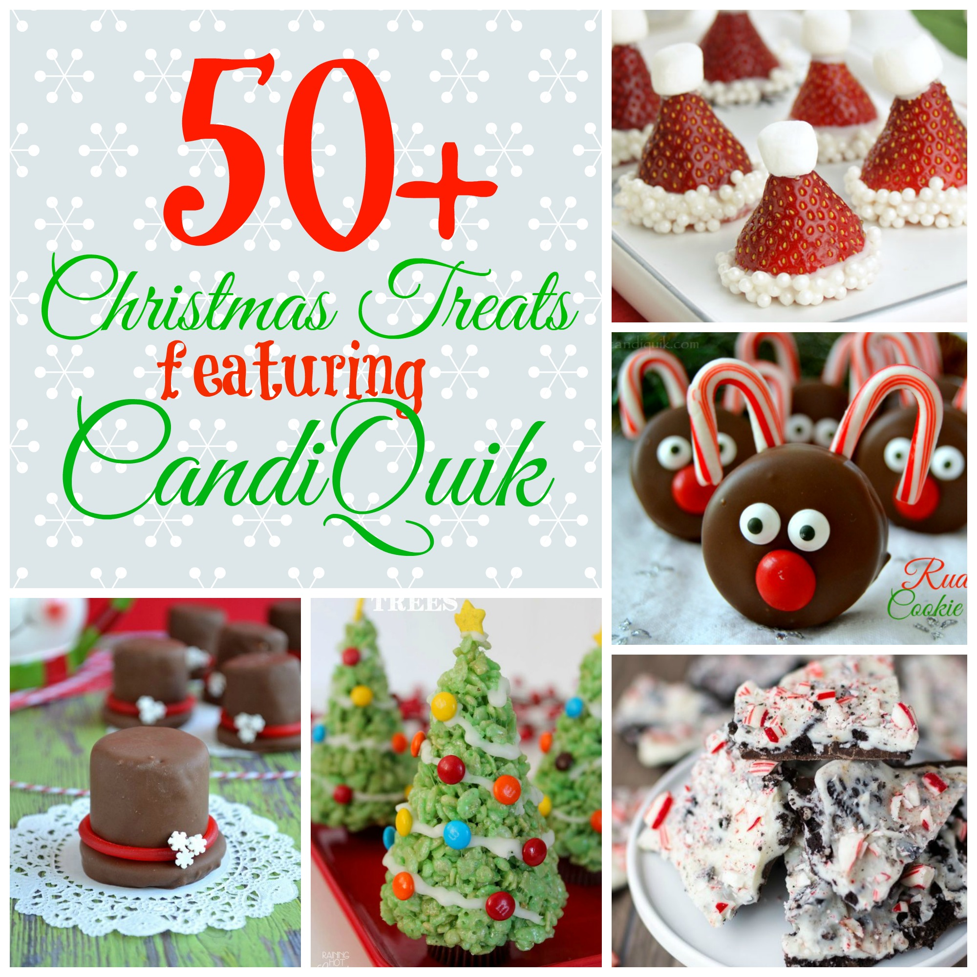 50 Christmas Treats Featuring CandiQuik