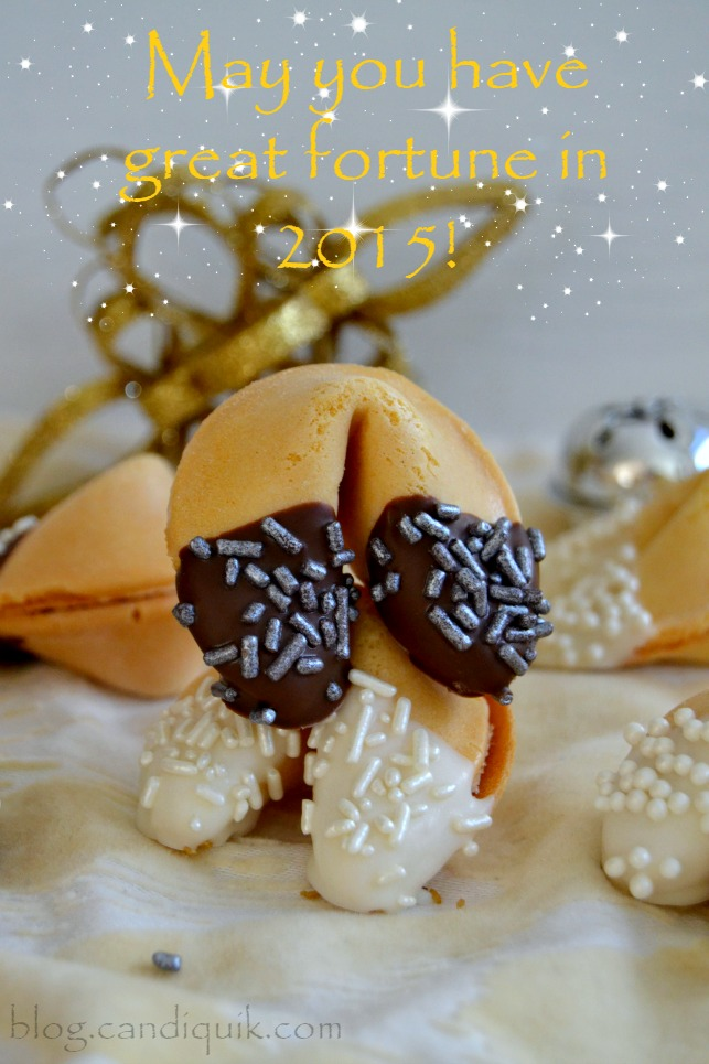 Chocolate Dipped Fortune Cookies2