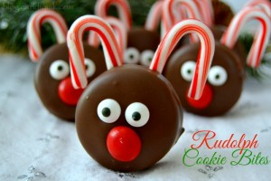 Rudolph Cookie Bites
