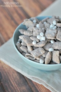 Hot Cocoa Muddy Buddies