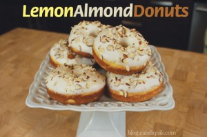 Lemon Almond Donuts