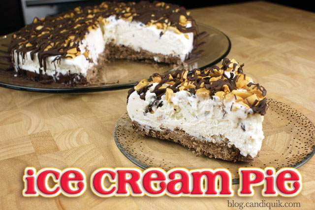 Easy Ice Cream Pie!