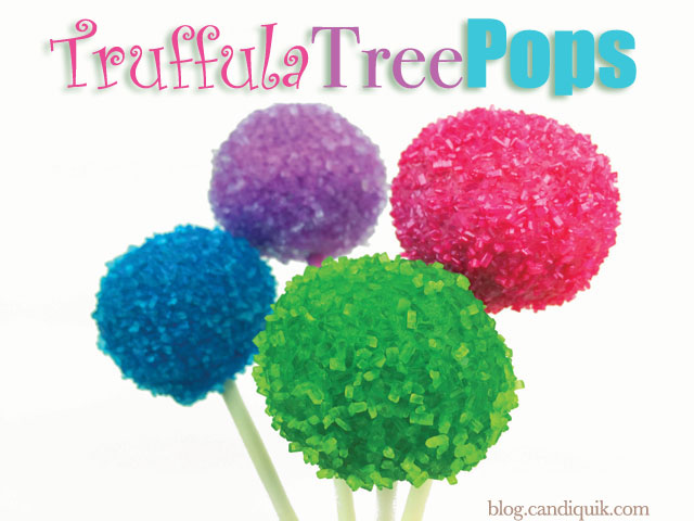 Truffula Tree Pops